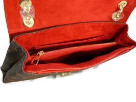 Женская сумка-конверт Louis Vuitton (Луи Виттон) 41200 Red_2
