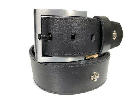 """Ремень кожаный """"Медведь"""" RMZ-4501"""