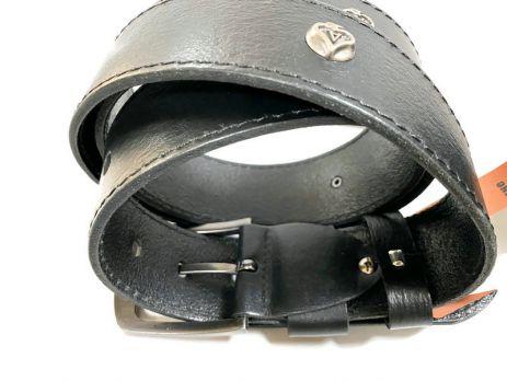 """Ремень кожаный """"Медведь"""" RMZ-4503"""