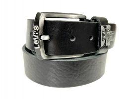 Ремень кожаный Levis black 150_1
