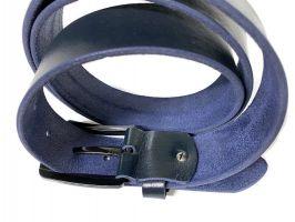 Ремень кожаный Tommy Hilfiger Blue_3