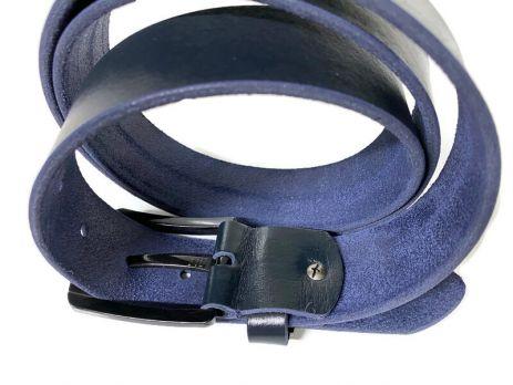 Ремень кожаный Tommy Hilfiger Blue