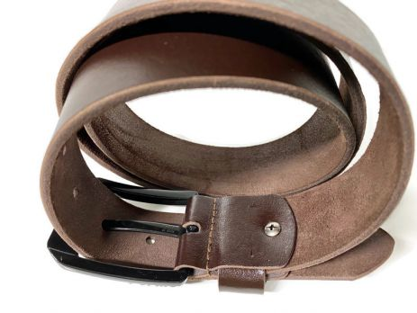Кожаный ремень Levi's brown