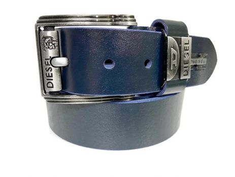 Кожаный ремень Diesel Blue 159
