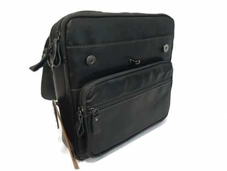 Сумка-портфель кожаная Canada 5003 black