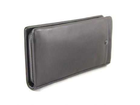 Клатч кожаный Prada 1606-14 Black