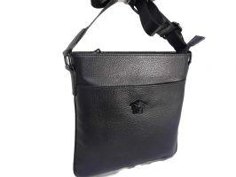 Кожаная сумка-планшет Versace (Версачи)_0