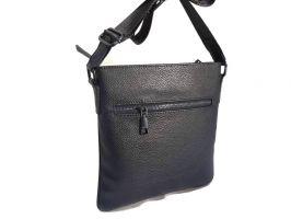 Кожаная сумка-планшет Versace (Версачи)_1