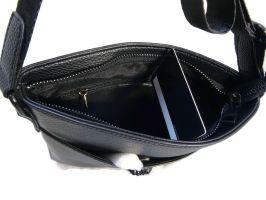 Кожаная сумка-планшет Versace (Версачи)_2