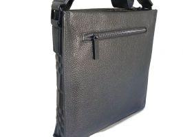 Кожаная сумка-планшет Burberry_1