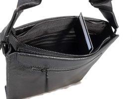 Кожаная сумка-планшет Burberry_2