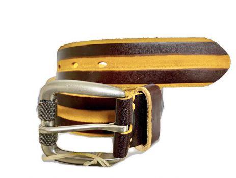 Кожаный ремень NHZ-218br