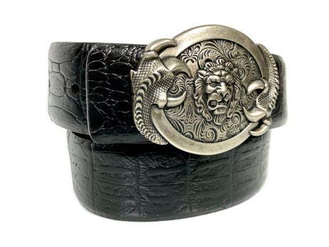 Ремень кожаный RMG-40852 black