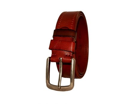 Ремень кожаный NHZ-699lbr