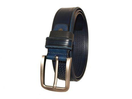 Кожаный ремень NHZ-250 bl
