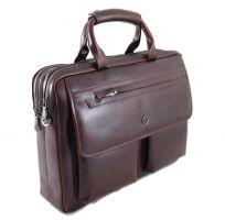 Сумка мужская из кожи H.T. leather 3637-1-2 Brown