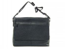 Кожаная мужская сумка А4 0982-4 black_0