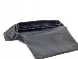 Кожаная мужская сумка А4 0982-4 black_3