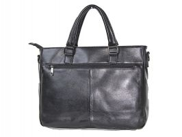 Мужская кожаная деловая сумка 8806-3 black_2