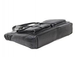 Мужская кожаная деловая сумка 8806-3 black_3