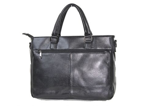 Мужская кожаная деловая сумка 8806-3 black