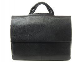 Сумка-портфель кожаная мужская 9929-3 black_1