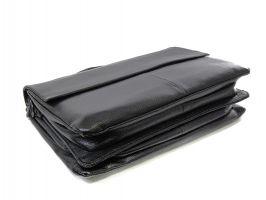 Сумка-портфель кожаная мужская 9929-3 black_3