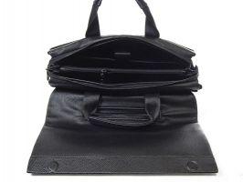 Сумка-портфель кожаная мужская 9929-3 black_4