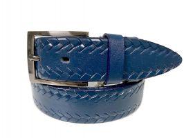 Ремень кожаный Blue 1044_0