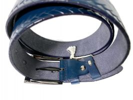 Ремень кожаный Blue 1044_2