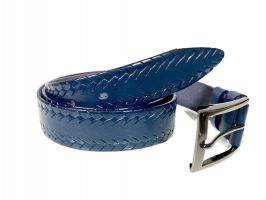 Ремень кожаный Blue 1044_1