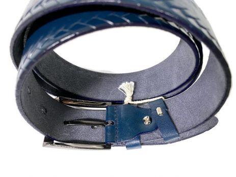 Ремень кожаный Blue 1044