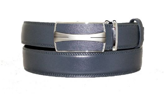 Ремень кожаный Alon T-85913 grey