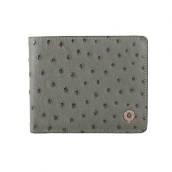 Портмоне кожаное Montblanc 6611-3 Gray
