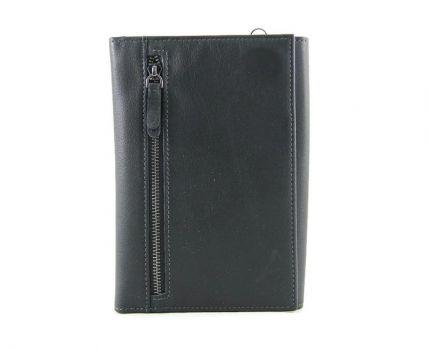 Клатч мужской кожаный Hassion H-092B Black