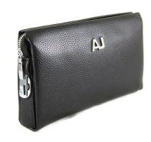 Сумка клатч кожаный AJ 1129-2 Black_0