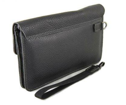 Клатч кожаный Salvatore Ferragamo 610-2 Black