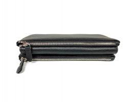 Клатч кожаный Hassion M026-260A Black_3