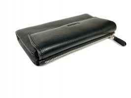 Клатч кожаный Hassion M026-260A Black_4
