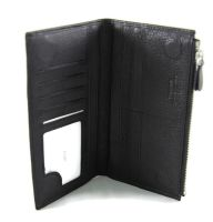 Мужской чёрный клатч Hassion M022-260A Black_1