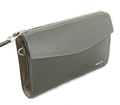 Клатч мужской кожаный Wanlima 1100829000241 Green