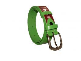 Кожаный женский ремень зелёный AWG-3001g_2