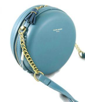 Сумка кругляш женская David Jones 5658 Blue