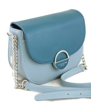 Женская сумка через плечо David Jones 6233-1 Blue