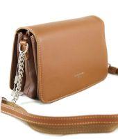 Женская сумка через плечо David Jones 5318 Cognac