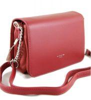 Женская сумка через плечо David Jones 5318 Bordeaux