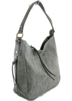 Женская сумка хобо David Jones 3546 D.Grey