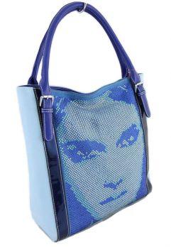 Модная женская сумка Velina Fabbiano 3298-1 YB Blue