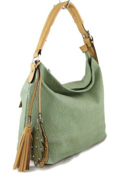 Женская сумка хобо Batty MD176 Green