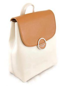 Городской рюкзак женский David Jones 6233-2 Cognac